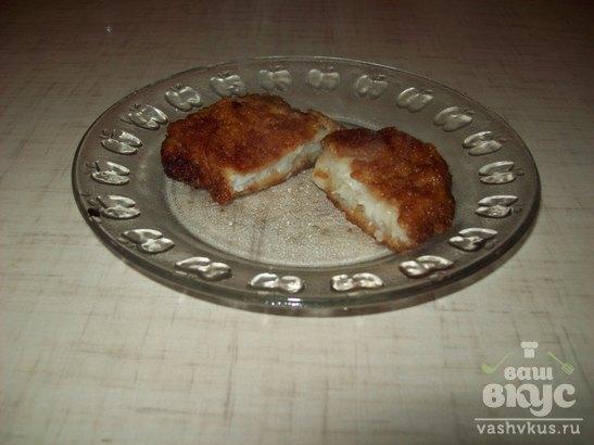 Жаренная рыба в сухарях