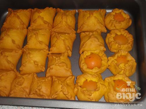 Медовички с абрикосами