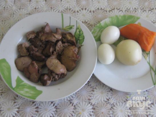 Паштет из куриной печени для детей