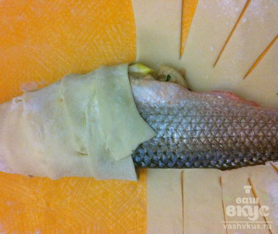 Рыбка в тесте