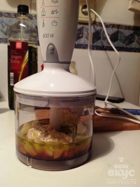 Стейк из семги под имбирным соусом