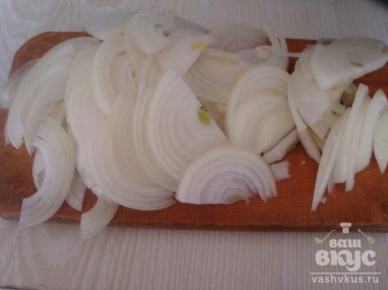 Гречневая каша с базиликом и сушенными грибами в мультиварке Vitek