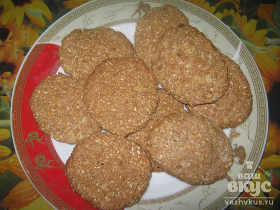 Хлебцы пшенично-гречневые