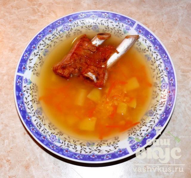 Гороховый суп рецепт пошагово со свининой
