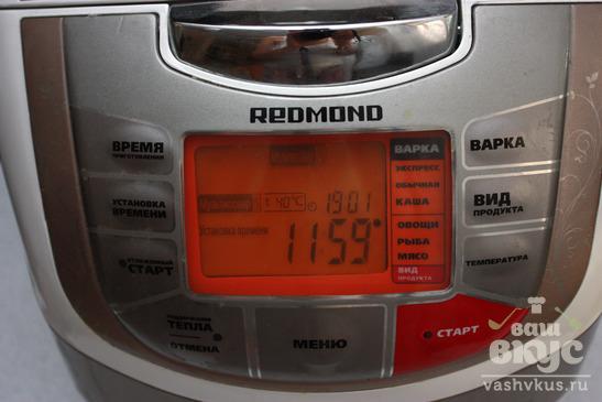 """Йогурт на закваске """"Эвиталия"""" в мультиварке Redmond M-4502"""