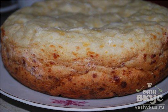 Французский хлеб с брынзой в мультиварке