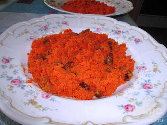 Витаминный салат со свеклой и морковью