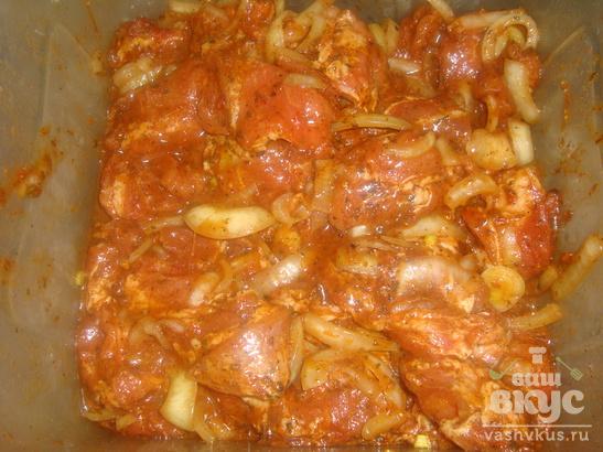Шашлык в томатном соке