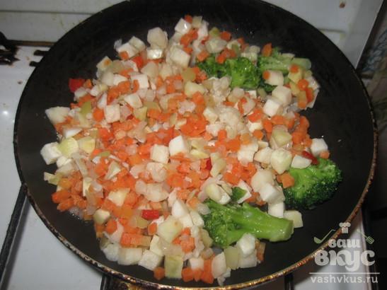 Овощной омлет