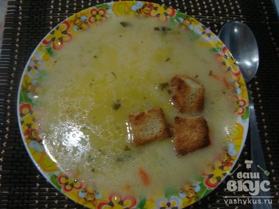 Суп с сыром в мультиварке Vitek