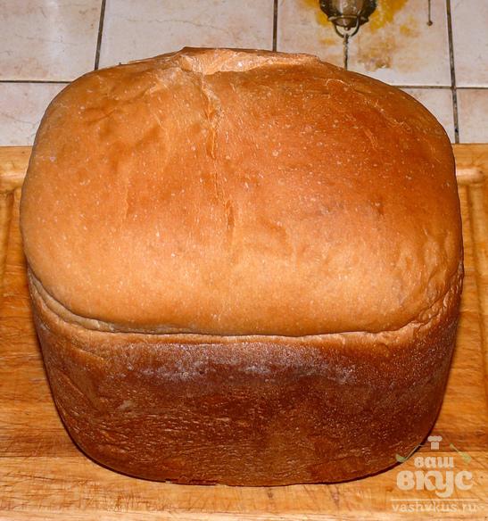 Хлеб в хлебопечке на свежих дрожжах