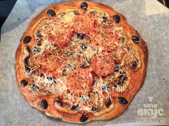 Итальянская пицца с грибами
