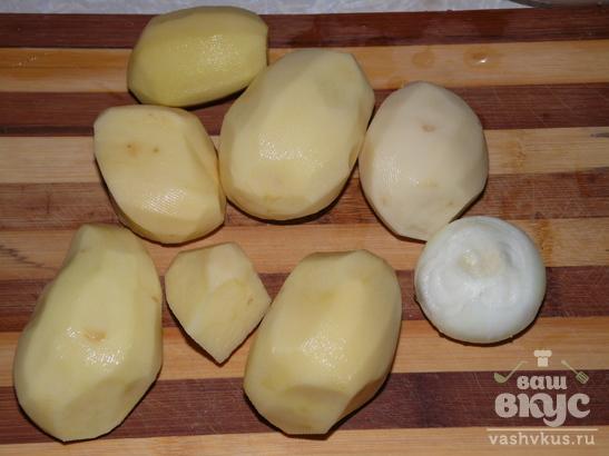 Жареная картошка пропаренная