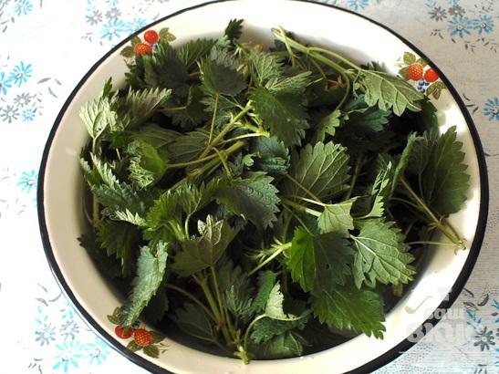 Похлёбка из крапивы с овощами