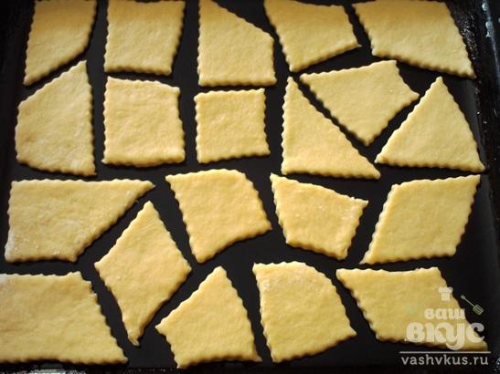 Печенье сметанное без масла