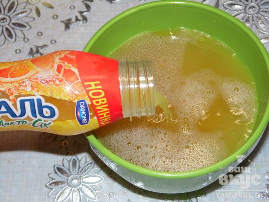 Летний апельсиновый десерт
