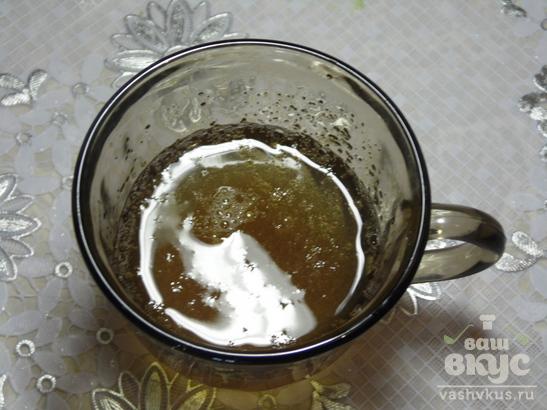 Клубнично - мятный чизкейк