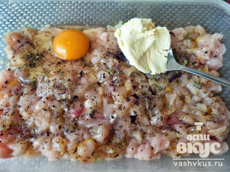 котлеты куриные из рубленного мяса рецепт с фото