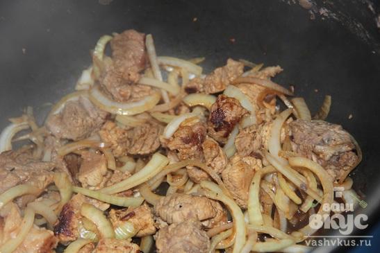 Чечевица с мясом