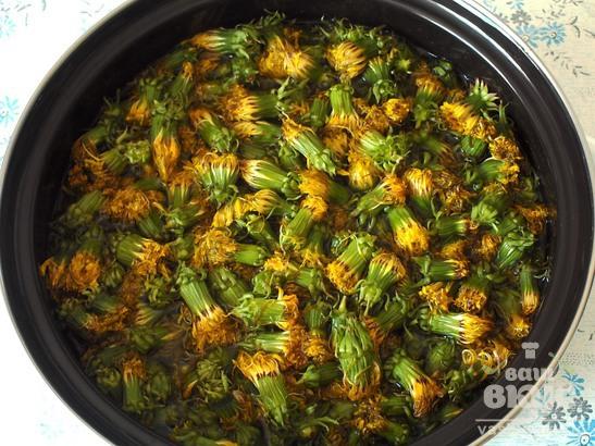Варенье из цветков одуванчика