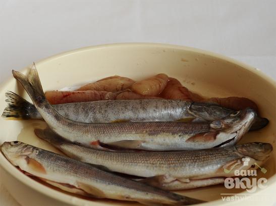 Двойная уха из речной рыбы