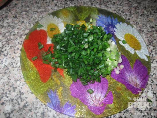Салат из редиса и сыра