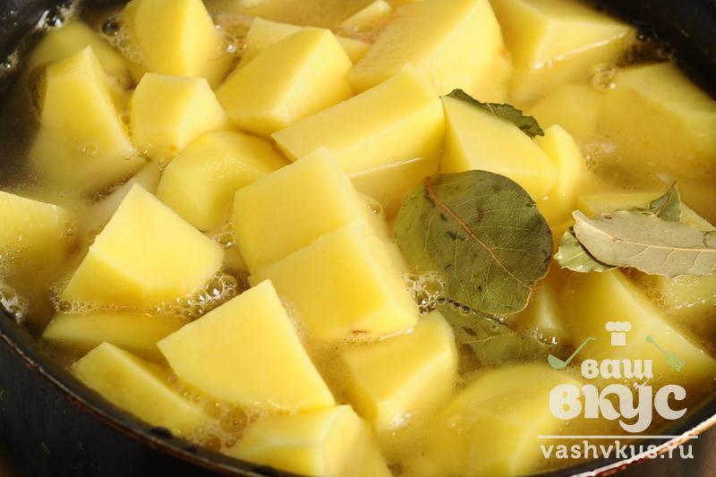 Блюда из картошки курицы