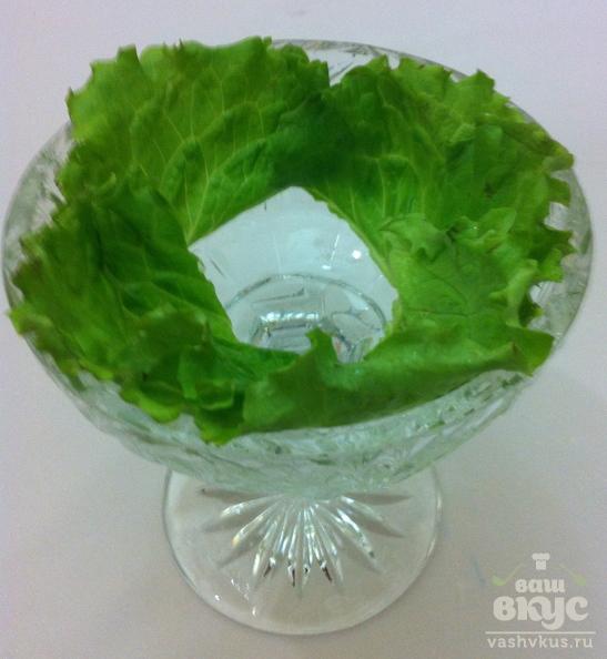 Салат с плавленным сыром и чесноком