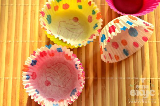 Вишневые кексы
