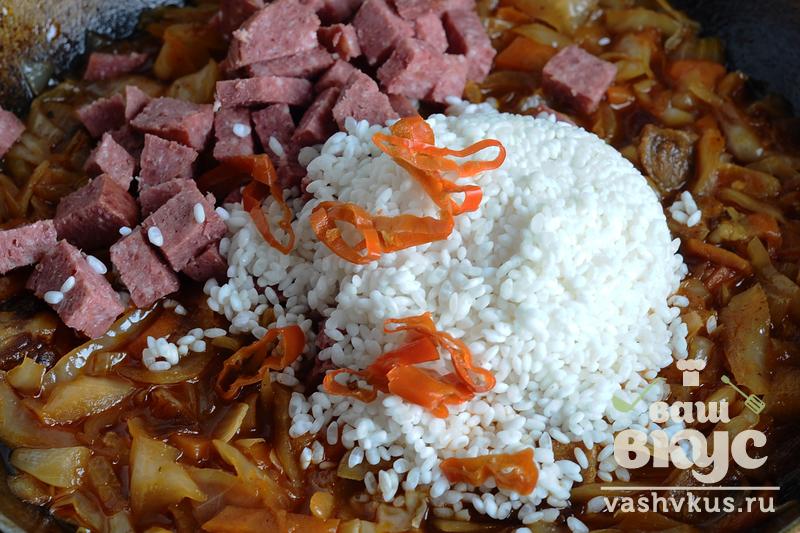 Крабовый салат с кальмарами рецепт с фото пошагово