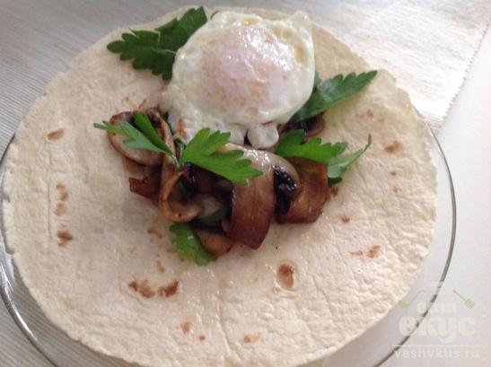 """Мексиканский завтрак """"Буритос"""""""