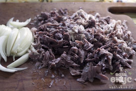 Солянка из баранины с макаронами
