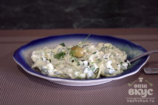 Соус тартар с оливками