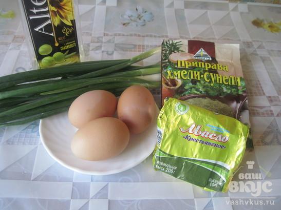 Яйца фаршированные зелёным луком