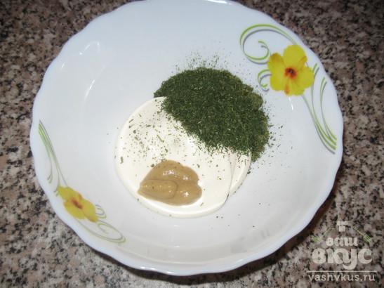 Карп с овощами и маслинами