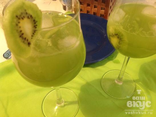 Домашний лимонад из киви
