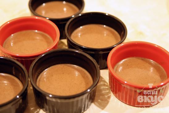 Желе из сливок и шоколада с апельсиновым ароматом