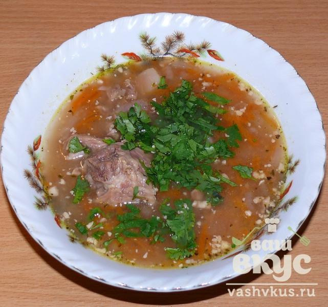 рецепт харчо с бараниной и грецкими орехами