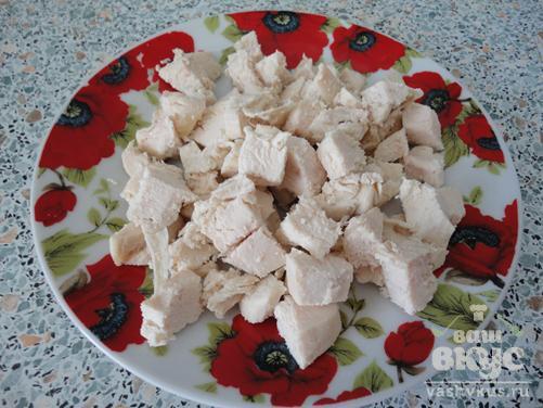 Кабачки фаршированные грибами с курицей