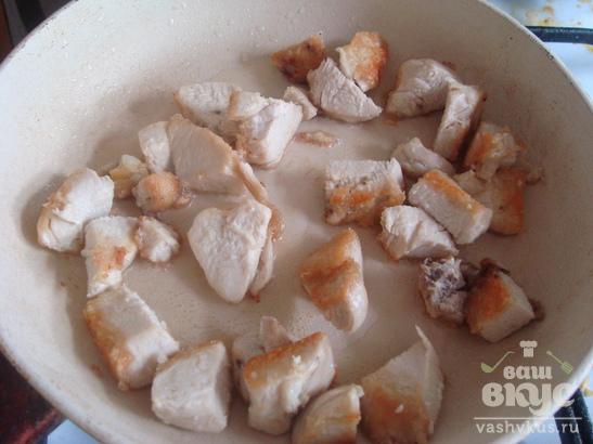 Картофель с грибами в горшочке