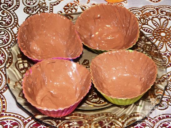 Шоколадные сырки с абрикосом