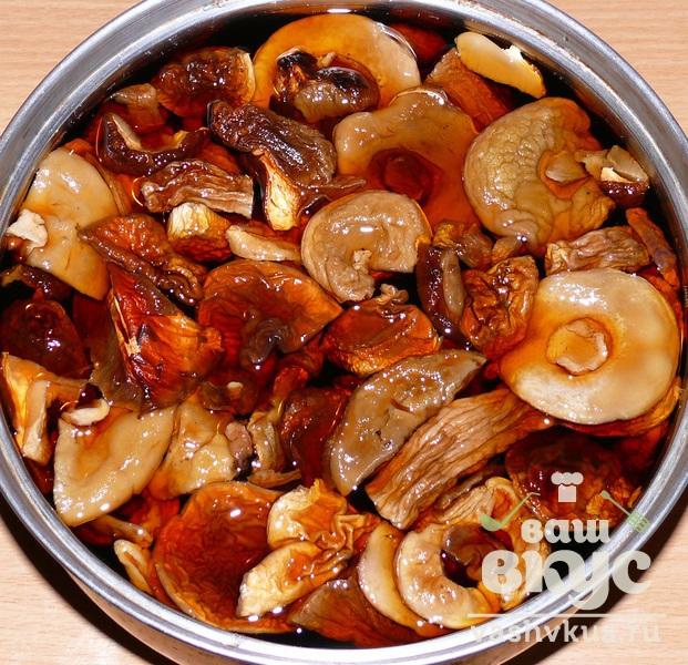 Рецепт приготовления из сушеных грибов