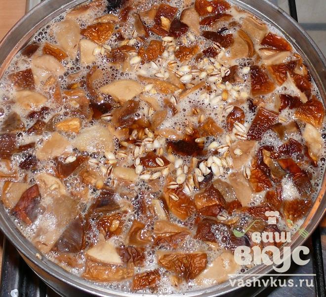 грибной суп с перловкой и сушеными грибами рецепты