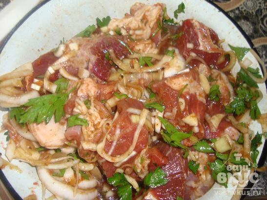 Маринованная свинина в духовке