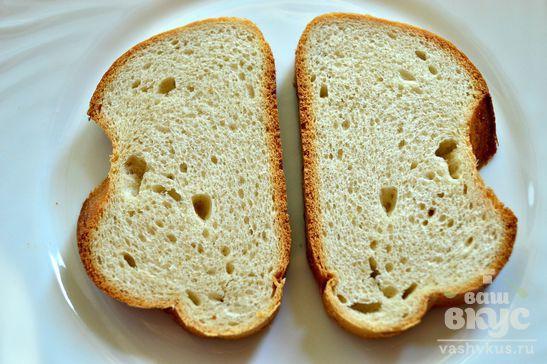 Горячие бутерброды с консервированным кальмаром