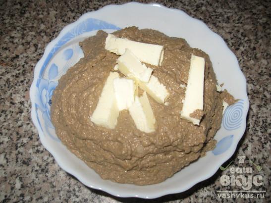 Паштет из говяжьей печени с грецким орехом