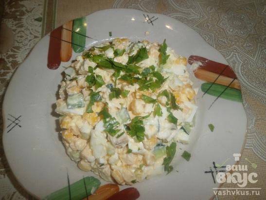 "Салат из куриного филе ""К ужину"""
