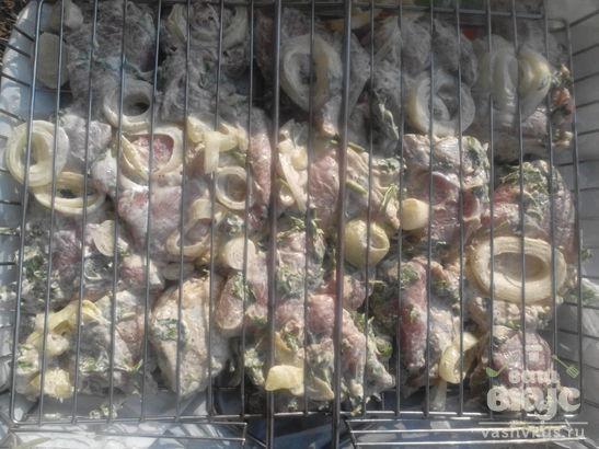 Стейки свиные на гриле