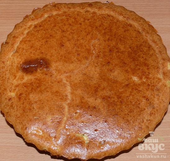 Пирог без дрожжей с капустой и яйцом