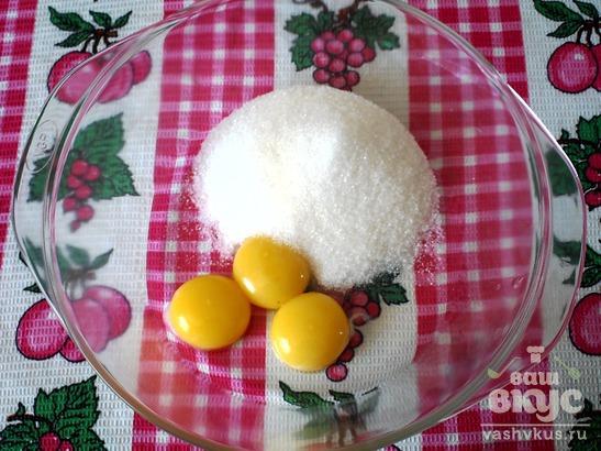 Песочный пирог со свежими ягодами